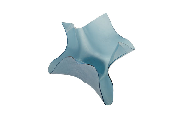 Sky Blue Decorative Bowl