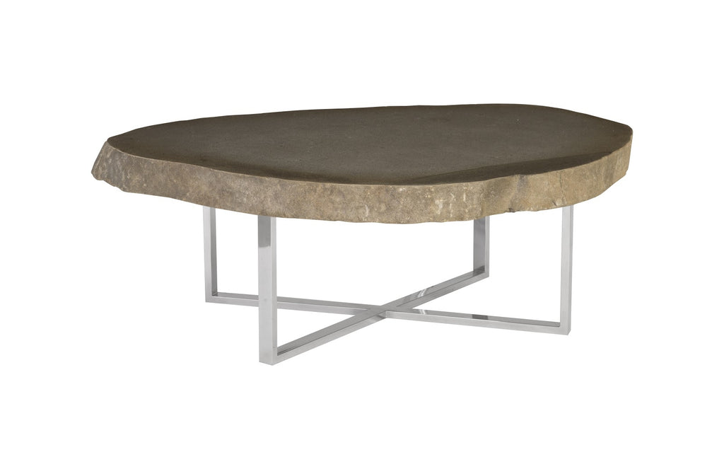 Sics Stone Slab Coffee Table