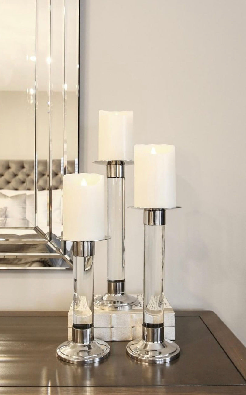 Aria Candle Sticks (set of 3)