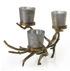 Willow Branch Candle Holder