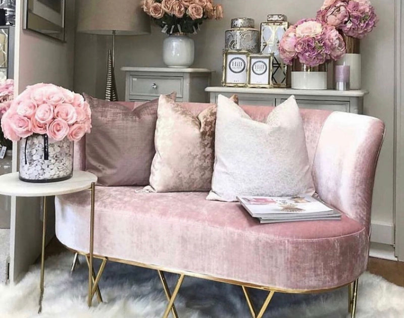 Pretty in Pink Settee