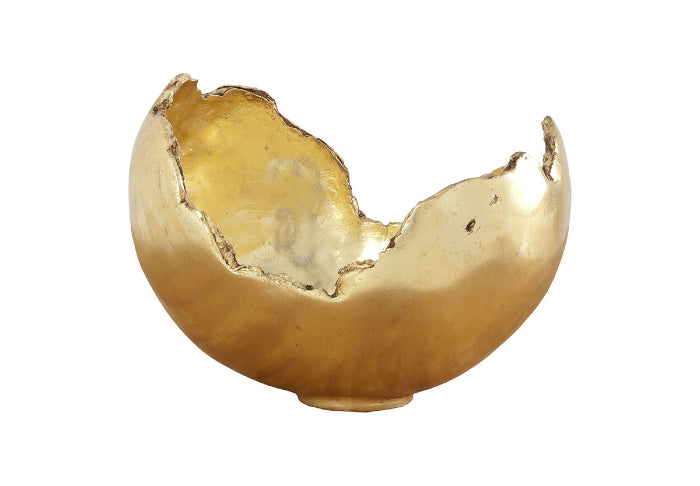 Kia Decorative Bowl (Gold Leaf)