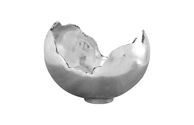 Kia Decorative Bowl (Silver Leaf)