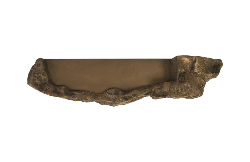 Boulder Wall Sculpture (Bronze)