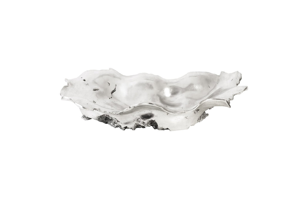 Oyster Silver Decorative Bowl