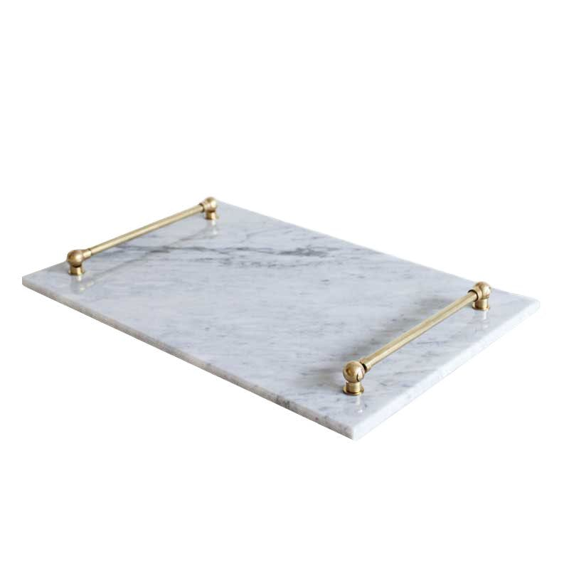Ceba Marble Tray - Luxury Living Collection