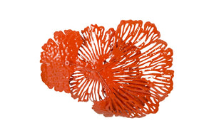 Coral Wall Flower Art