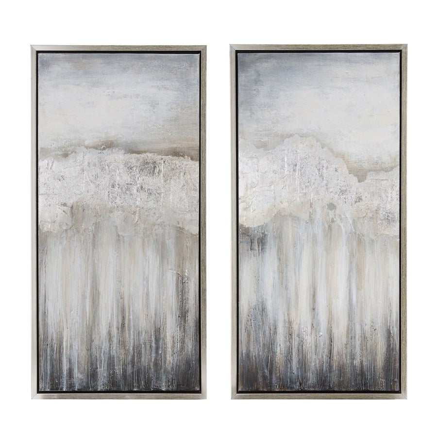 Misty Day III Hanging Artwork (Set of 2)