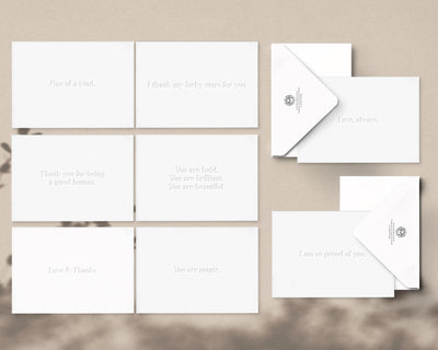 Blinding White Greeting Card Box Set