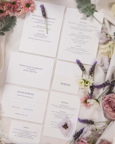All of the Time Place Card