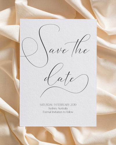 Beloved Spin Save the Date