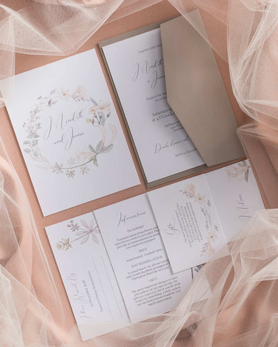 Blossomy Invitation