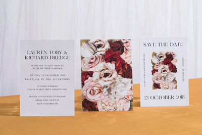 Floral Facade Invitation