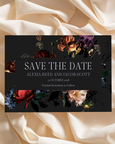 Nighttime Muse Save the Date