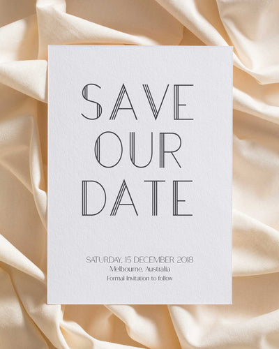 Strong Lines Save the Date