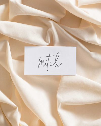 Hold Me Close Place Card