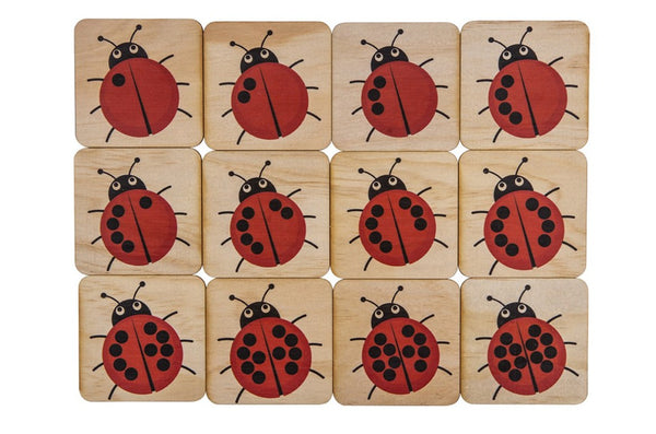 12 Piece Lady Beetle Puzzle