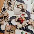 32 Piece 8 Transport Theme Puzzle