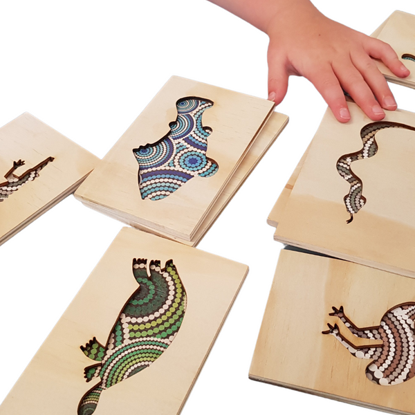 Double Sided Indigenous Memory Game
