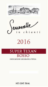 2016 Super Texan Rosso ---- (6 Bottle Case)
