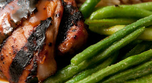 BBQ Chicken with Green Beans