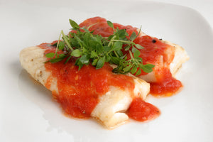 Flounder with Marinara