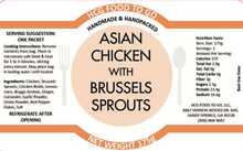 Load image into Gallery viewer, Asian Chicken with Brussels Sprouts