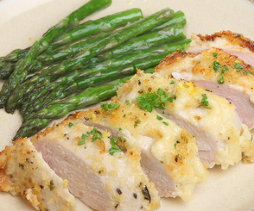 Herb Chicken with Asparagus