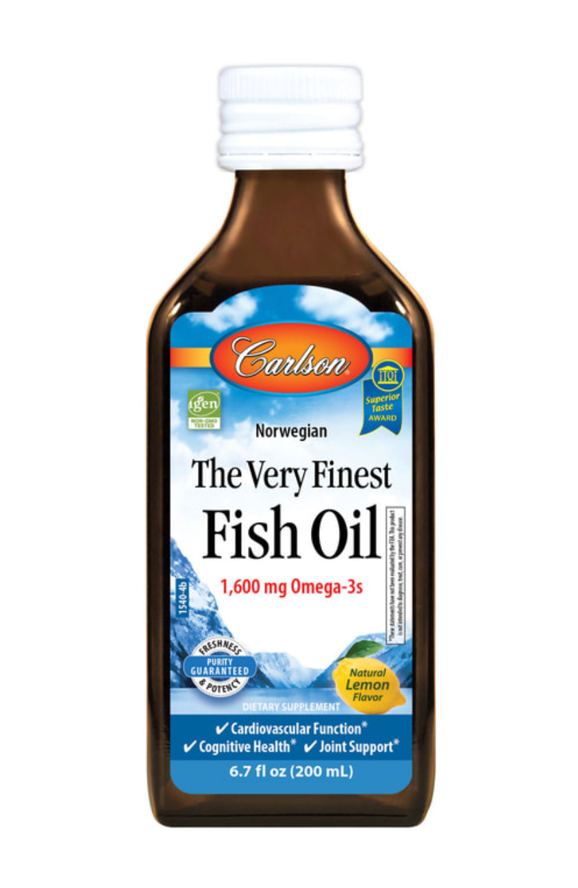 Carlson Labs Fish Oil 200mL or 500mL