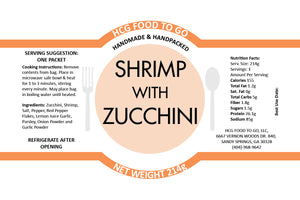 *Limited Time Only* Summer Shrimp with Zucchini