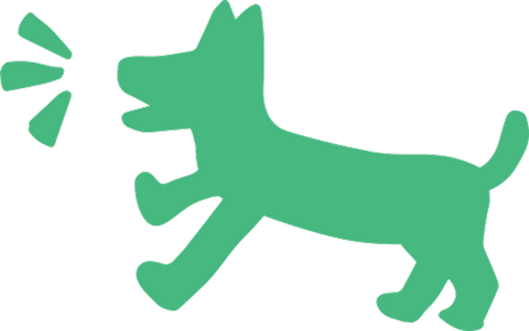 Icon of dog barking