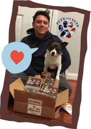 Pets for Vets and Box of Happiness Treats