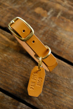 Comrad Dog collar FREE TAG and PERSONALIZATION English Bridle leather
