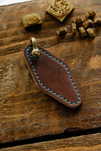 Stronghold Marbled Shell Cordovan key fob