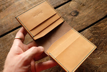 Marbled Shell Cordovan and Natural Buttero 5pockets Mora Bifold