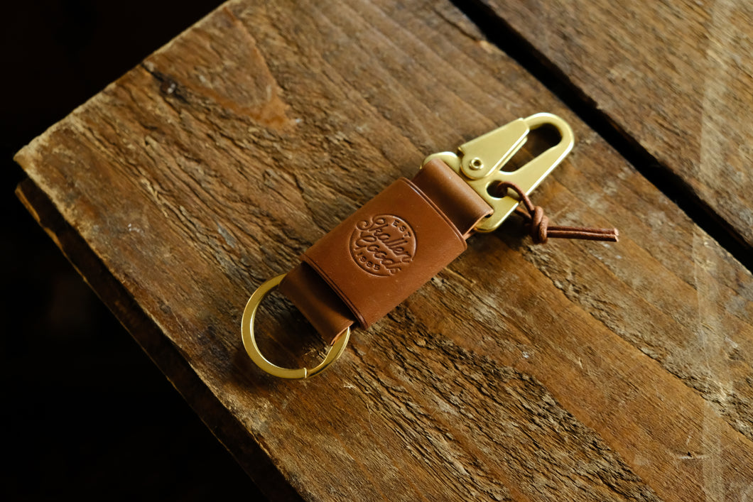 Stronghold Shell Cordovan key holder