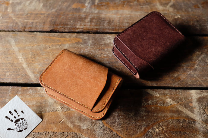 Mora bifold wallet, Handmade leather wallet , EDC, Italian Pueblo leather