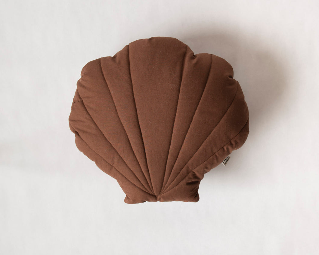 Shell Cushion Brown