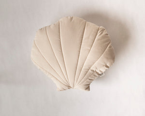 Shell Cushion Beige