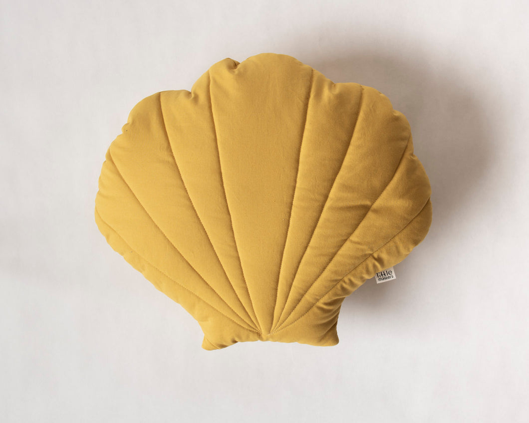 Shell Cushion Yellow