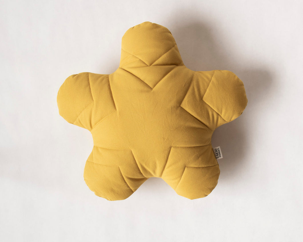 Starfish Cushion Yellow