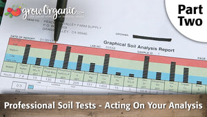 Professional Soil Tests - (Part 2) Acting On Your Analysis
