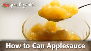 How to Make & Can Applesauce