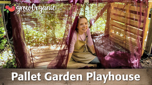 DIY Pallet Garden Playhouse