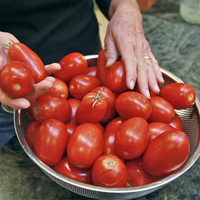 roma tomatoes for canning