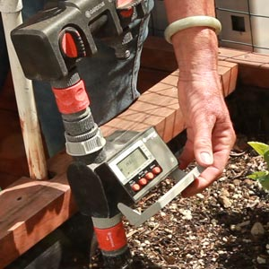 water timers on drip irrigation