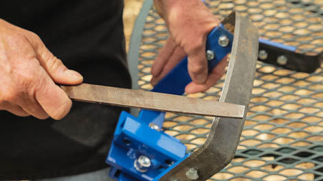 Sharpening a Stirrup