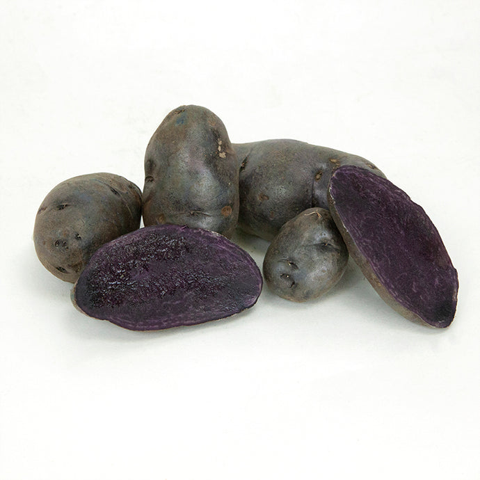 Organic Purple Fiesta Seed Potatoes