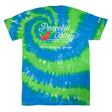 Load image into Gallery viewer, Peaceful Valley's Organic Tie Dye T-Shirt