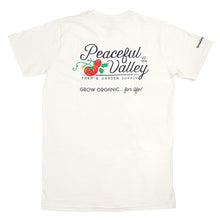 Load image into Gallery viewer, Peaceful Valley's Organic Natural T-Shirt (Small)